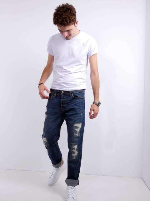 Jeans Comfort fit Hombre Jack & Jones 12140218 JJMIKE JJORIGINAL CR