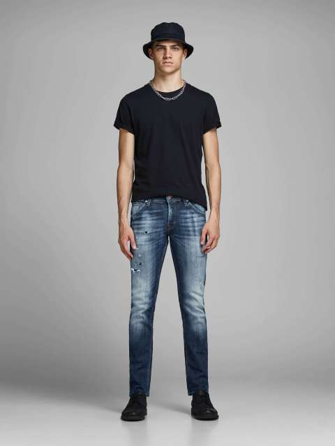 Jeans Slim Hombre Jack & Jones 12159158 JJIGLENN JJFOX JJ 176 NOOS