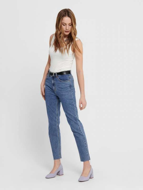 Jeans chica Only 15171549 ONLEMILY LIFE HW ST RAW CR AN MAE05 NOOS