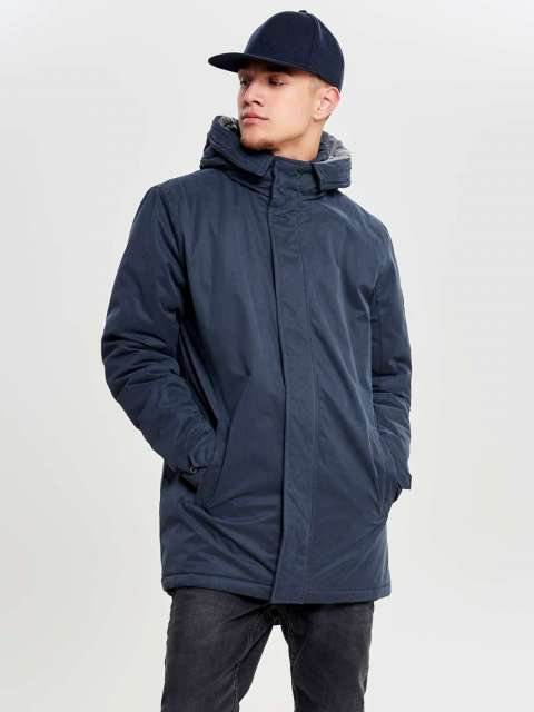 Parka Capucha Hombre Only & Sons 22010257 ONSETHAN XO PARKA NOOS