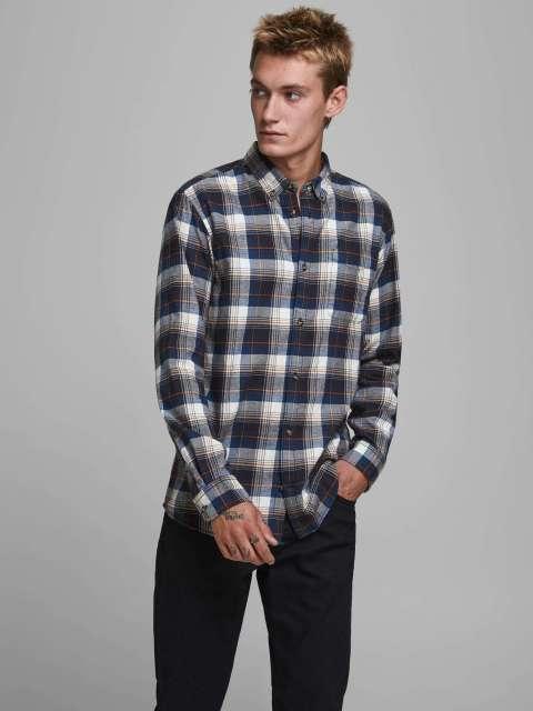 Camisa Cuadros Hombre Jack & Jones 12172667 JJECLASSIC CHECK SHIRT L/S