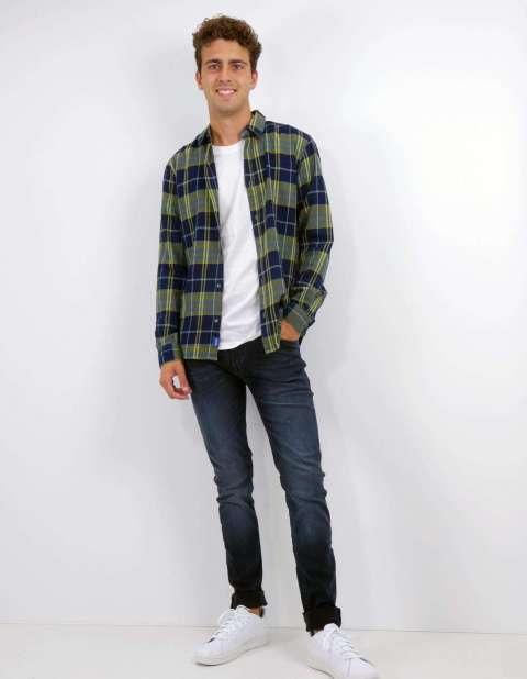 Camisa Cuadros Hombre Only & Sons 22014292 ONSMORE CHECK SHIRT FS 4292