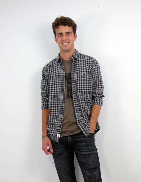 Camisa Cuadros Hombre Only & Sons 22019905 ONSTORM LIFE CHECK SHIRT GS 9905