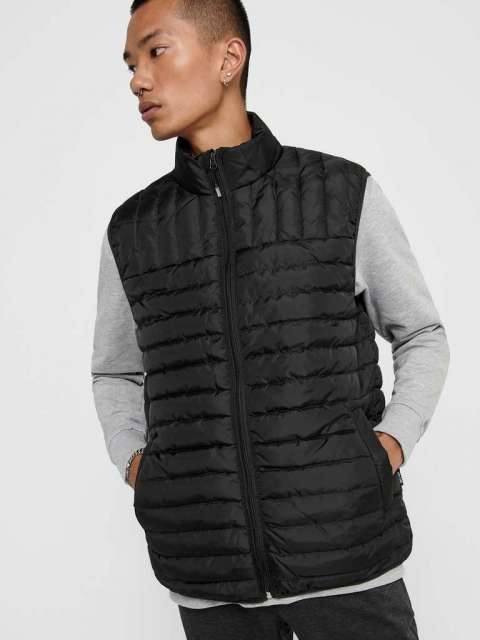 Chaleco Acolchado Hombre Only & Sons 22015123 ONSPAUL QUILTED VEST OTW