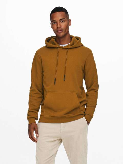 Sudadera Capucha Hombre Only & Sons 22018685 ONSCERES LIFE HOODIE SWEAT NOOS