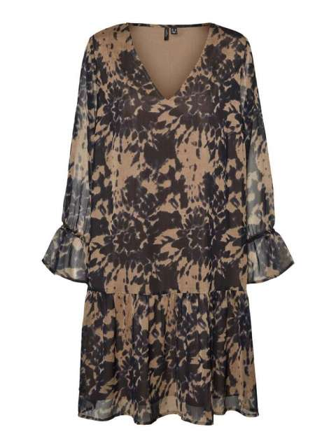 Vestido Estampado Mujer Vero Moda Curve 10259023 VMDANA LS ABOVE KNEE DRESS- K CURVE